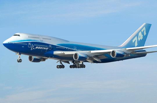 Салон Боинга 747-400