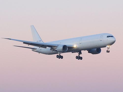 Boeing 767-400. Салон самолета